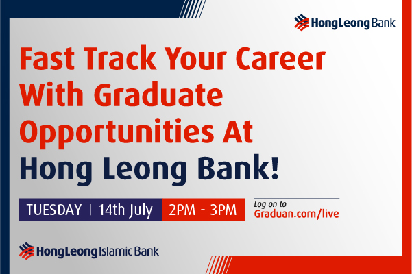 Fast Track Your Career with Graduate Opportunities @ Hong Leong Bank